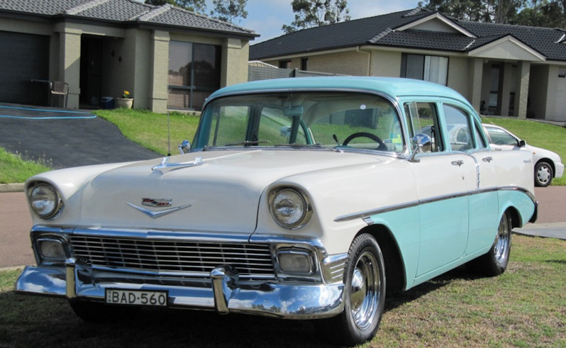 for sale 1956 chevrolet 4 door sedan